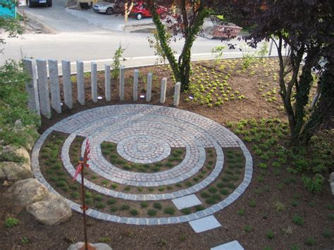 terrasse rund granit terrasse rund