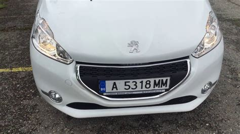 peugeot rent a car peugeot 208 carrent rent a car company in bulgaria