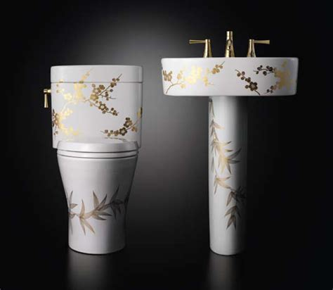 fancy toilet decorative luxury toilets and washstands miyabi from