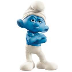 grouchy smurf icon smurfs 2 movie iconset designbolts
