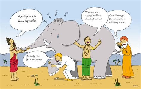 Parable Of The Blind And The Elephant blind elephant parable equus