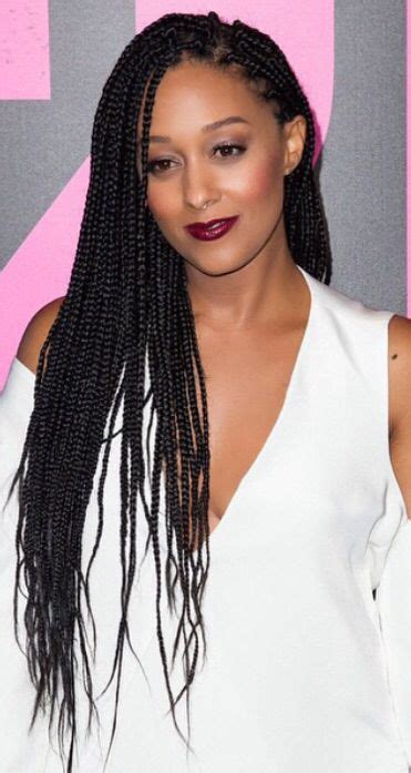 tia mowry long straight hair extensions hairstyle hot tia mowry braids boxbraids micro jumbo dookie box