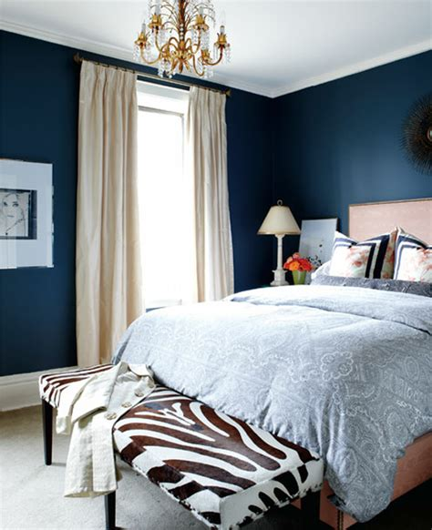 navy bedroom walls navy blue room accents interiors b a s blog