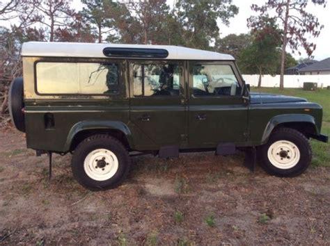 land rover defender diesel 1988 land rover 110 defender 200tdi diesel
