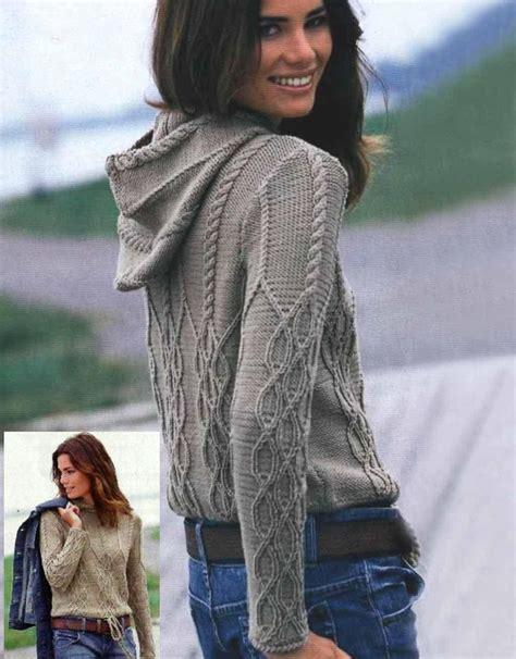 puntos de chompas para mayores mujeres las 25 mejores ideas sobre patrones de capucha de punto en