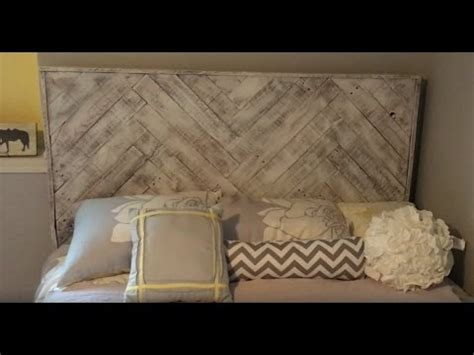 how to make a headboard youtube how to make a headboard from recycled pallets youtube