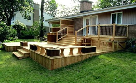 backyard deck ideas on a budget modern small patio ideas