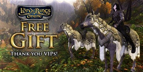 standing stone games offers gift horse to vip lotro players mmo bomb - Lotro Gift Card