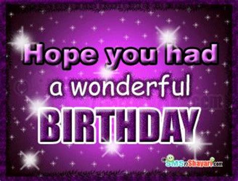 images  belated happy birthday  pinterest