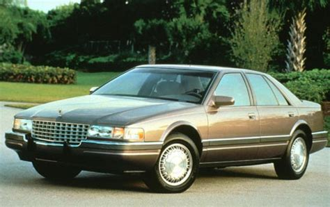 1993 Cadillac Seville 1993 cadillac seville information and photos zombiedrive