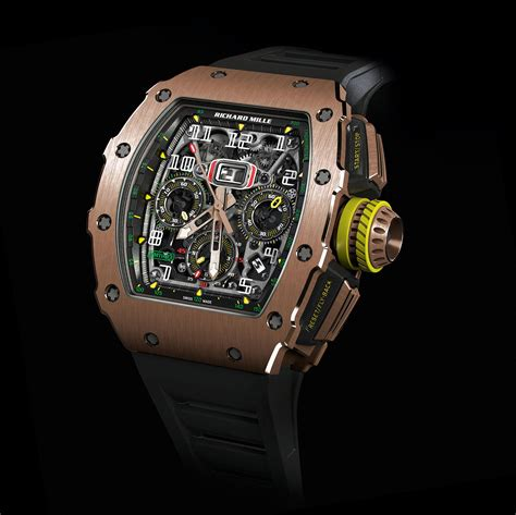 Richard Mille Gold richard mille facelifts the bestselling rm 11 chronograph