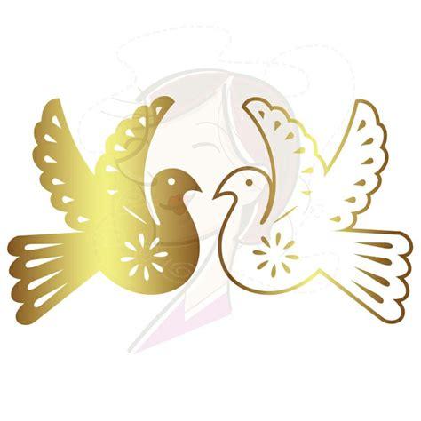 gold wedding clipart gold papel picado wedding birds banner graphics digital