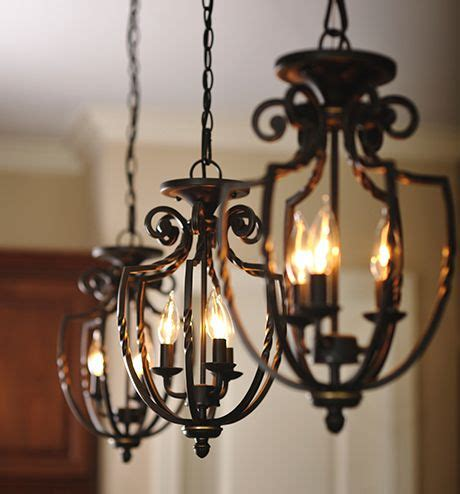 rod iron ceiling lights three wrought iron hanging pendant light fixtures