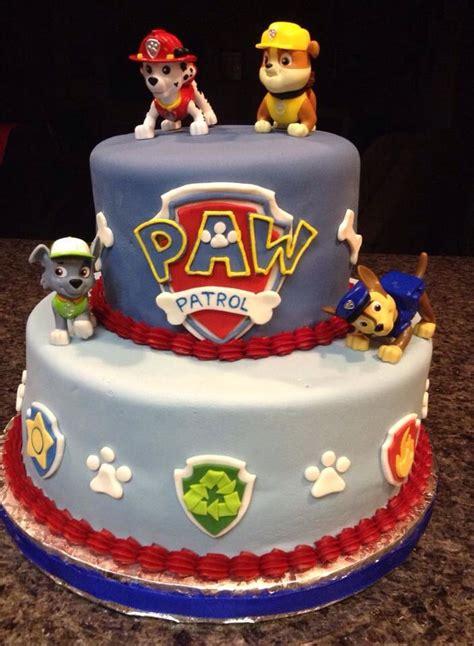 rylans paw patrol cake birthday parties pinterest