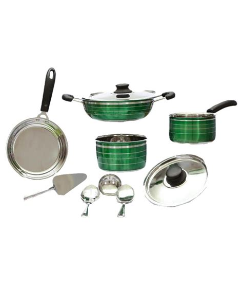 What Pots Can You Use On An Induction Cooktop ideale enamle htr cookware set of 10 pcs can use on gas induction buy at best