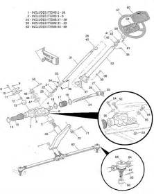 tie rod assembly with tie rod ends for e z go model medalist txt 1994 to 2000