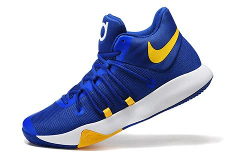 yellow nike basketball shoes nike kd trey 6 blue yellow basketball shoes jordans 2017