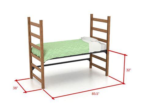 dorm bed size dorm room bed size peenmedia com