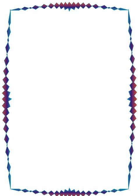 bordes de pagina colouring pages a mi manera bonitos bordes y marcos coloridos
