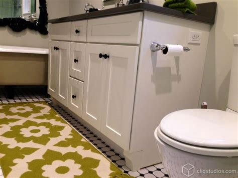 Bathroom Vanities Dayton Ohio Dayton Painted White Mission Bathroom Vanity Cabinets From Cliqstudios Bathroom Vanity