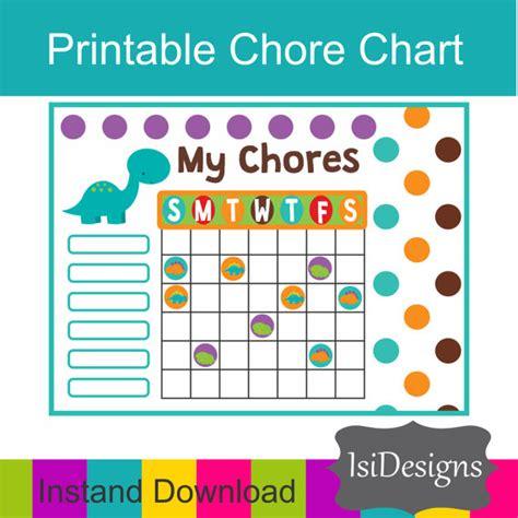 printable chore organizer items similar to printable chore chart responsibility