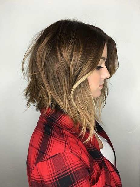 Lob With Soft Curl Hairstyle by 25 Inverted Bob Haircuts For Flawless Fashionistas Part 4