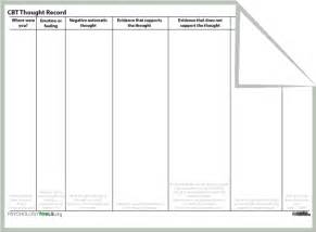cognitive behavior therapy handouts free cognitive