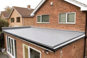 Flat Roof Types Flat Roof