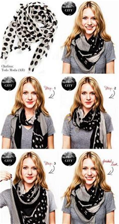 como usar la bufanda 1000 images about maneras de usar una chalina o bufanda