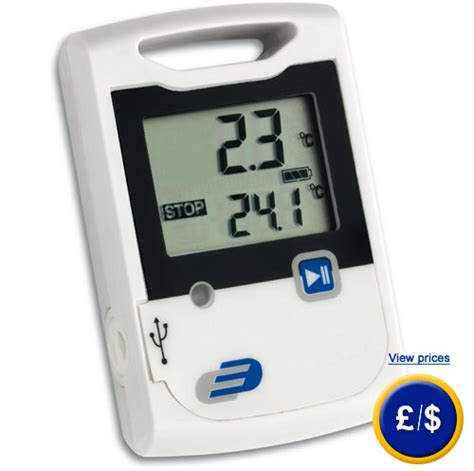 Temperature Data Logger Industrial 10 Channel temperature data logger log10