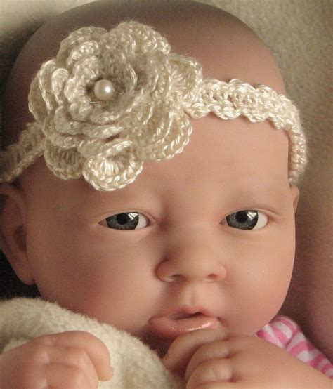 free patterns and instruction on making flower hair clips crochet pattern instructions baby headband with flower