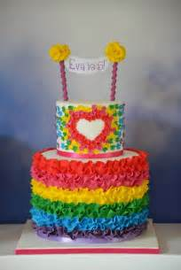 bunte kuchen a collection of colorful cakes rainbow cakes