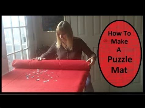 How To Make A Mat by How To Make A Puzzle Mat