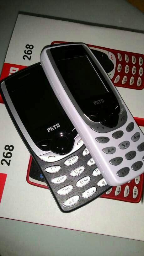 Hp Mito 151 Murah Berkualitas jual mito 268 mirip nokia 8520 jadul hp murah berkualitas mega ponsel