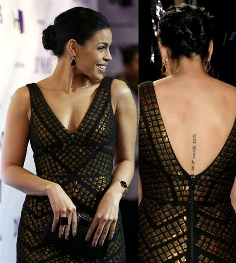 jordin sparks tattoo jordin sparks tattoos lettering on spine