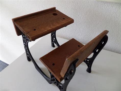 antique school bench antique school bench wood with cast iron hand made