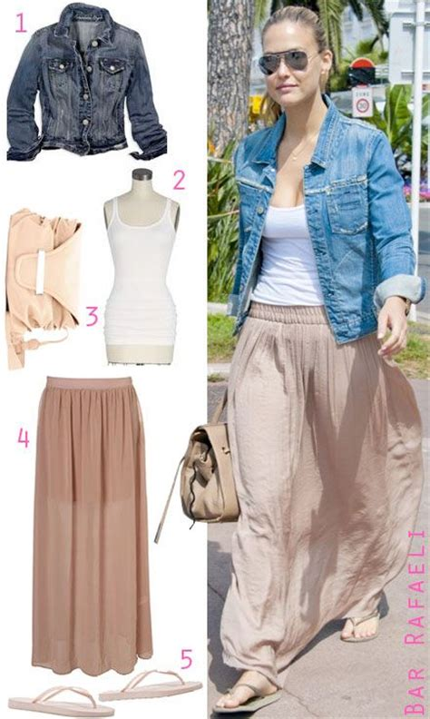 maxi skirt with jean jacket www pixshark
