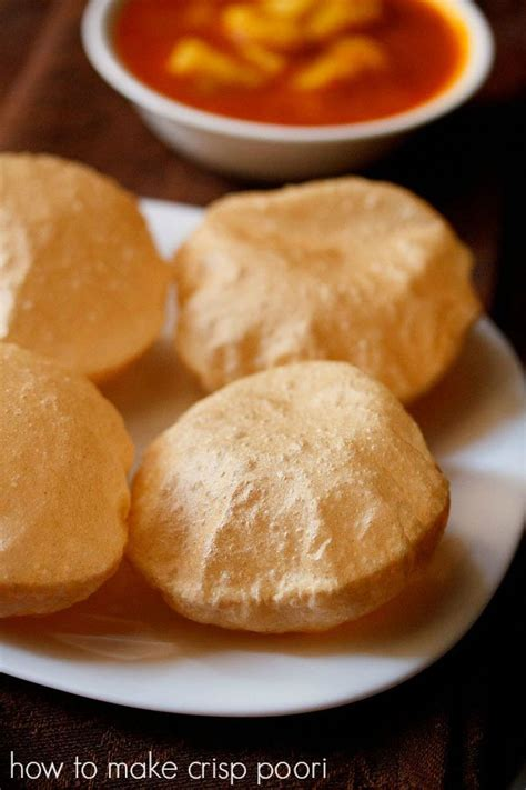 crisp poori recipe, how to make crisp soft pooris | poori ... G Recipes