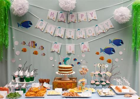 Dolphin Under the Sea Party   Under the Sea Party Ideas