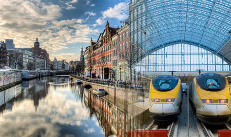 Eurostar London to Amsterdam train tickets launch today ...