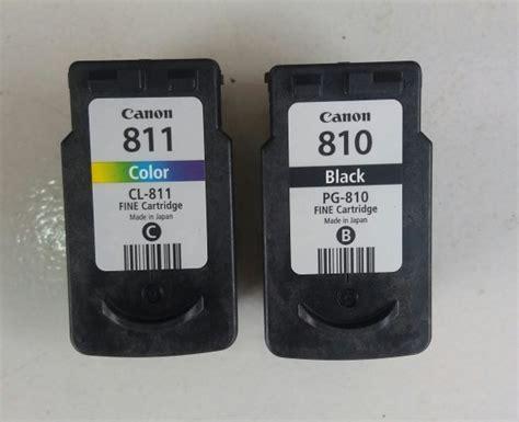 Berkualitas Cartridge Katrid Tinta Canon 810 Black 1 97 daftar harga tinta 811 murah buruan cek di katalog or id