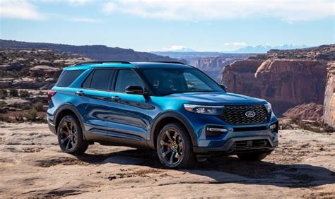 Ford Explorer 2020 Release Date by 2020 Ford Explorer Blue Colors Release Date Redesign