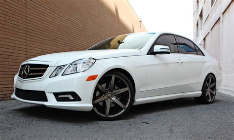 mercedes e350 rims 2011 white mercedes e350 with 20