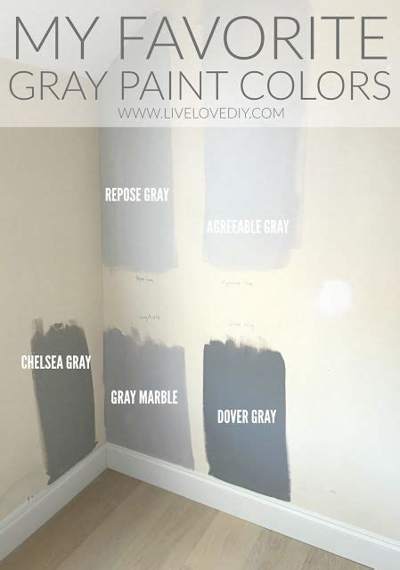 the best gray paint colors revealed livelovediy cores de tinta cores e