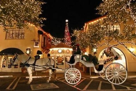 light carriage rides highland park highland park lights carriage