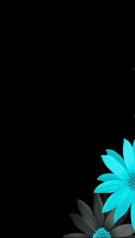 wallpaper iphone blue dark black and blue flowers wallpaper flowery wallpapers