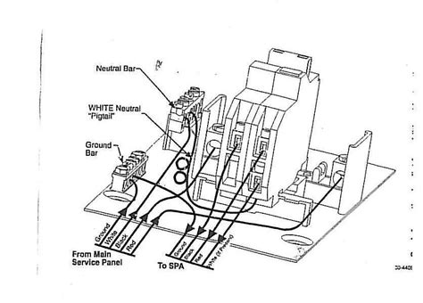 diagram of a gfci circuit breaker diagram free engine