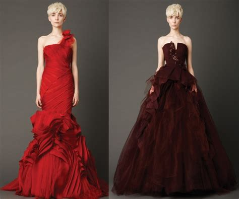 fotos vestidos de novia vera wang vestidos de novia rojos de vera wang mujeres blog de