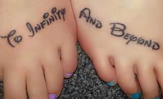 To Infinity And Beyond Tattoos 20 Creative To Infinity And Beyond Tattoos Hative