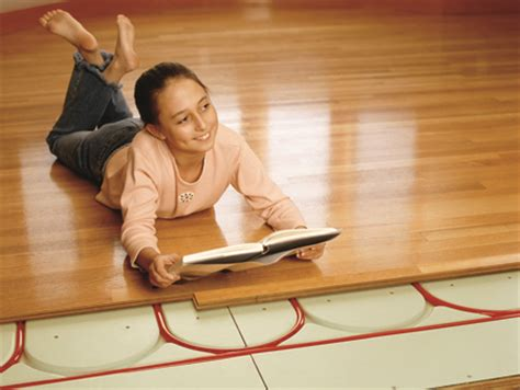 Wood Floor Radiant Heat by Ingenious Two In One Radiant Panel Structural Subfloor